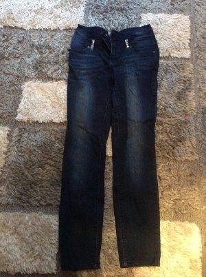 Rainbow Hoge taille jeans veelkleurig