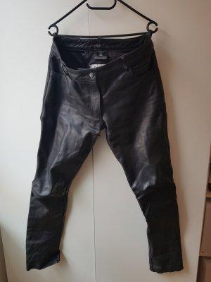 Highway Pantalón de cuero negro