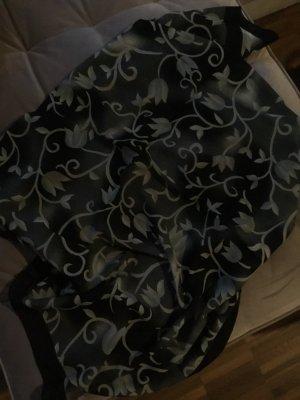 Hijab noir-gris