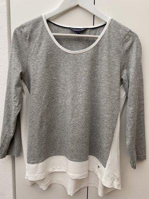 Tommy Hilfiger Empiècement de blouses gris clair-blanc