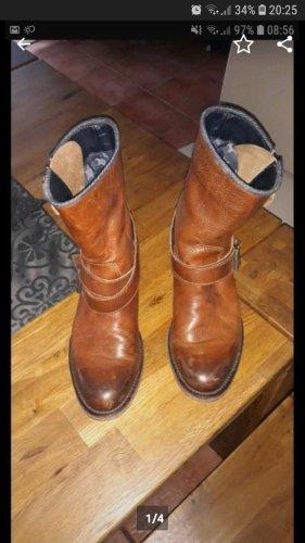 Hilfiger Boots gr. 37 cognac farben