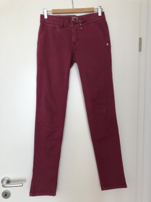 Hilfiger Denim Pantalon chinos bordeau