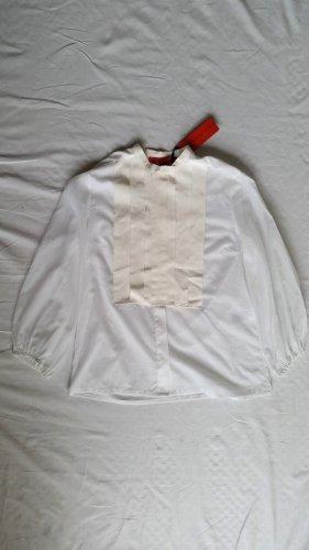 Hilfiger Collection, Bluse, weiß, Baumwolle, 38 (US 8), neu