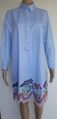 Hilfiger Collection, Hemdkleid, blau, bestickt, 36 (US 6), Baumwolle, neu, € 600,-