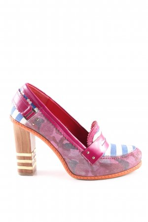 Hilfiger Collection Plateau-Pumps abstraktes Muster Casual-Look