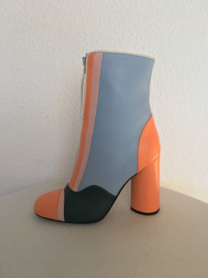 Hilfiger Collection, Stiefeletten, Leder, mehrfarbig, 40, neu, € 650,-