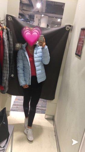 Hilfiger Daunen Jacke hell blau