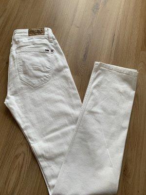 Hilfiger Denim Pantalón de pana blanco