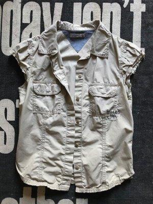 Hilfiger Denim Shirt Blouse camel cotton