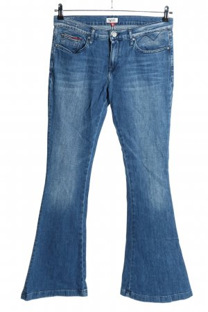 Hilfiger Denim Vaquero de corte bota azul look casual