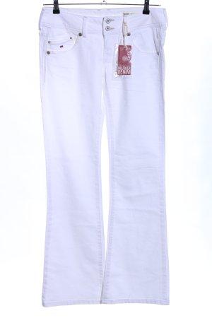 Hilfiger Denim Vaquero de corte bota blanco look casual
