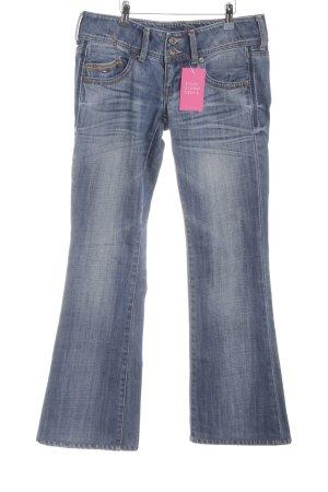 Hilfiger Denim Boot Cut Jeans blau meliert Casual-Look