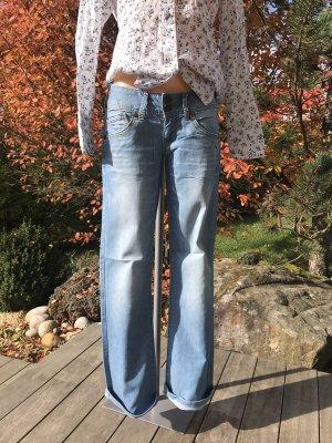 Hilfiger Denim Boot Cut Jeans multicolored cotton