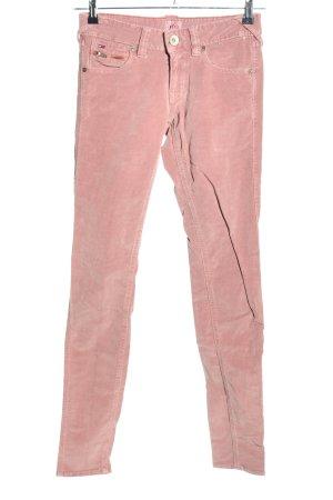 Hilfiger Denim Pantalón de pana rosa look casual
