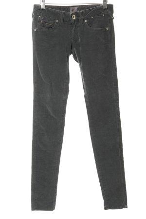 Hilfiger Denim Pantalon en velours côtelé gris vert-argenté