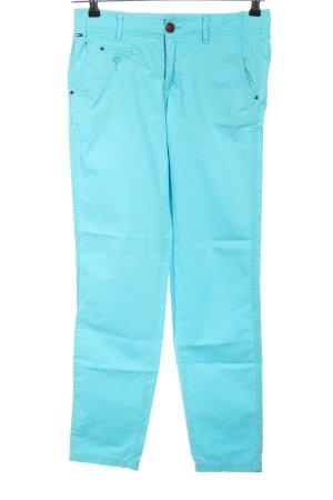 Hilfiger Denim Pantalon cinq poches turquoise style décontracté