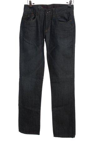 Hilfiger Denim Five-Pocket-Hose schwarz Casual-Look
