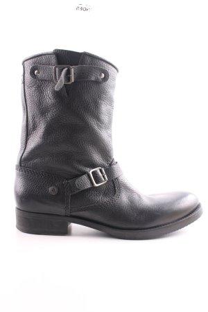 Hilfiger Denim Halfhoge laarzen zwart casual uitstraling
