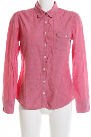 Hilfiger Denim Hemd-Bluse pink Business-Look