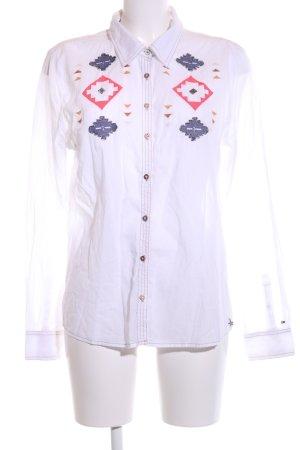 Hilfiger Denim Hemd-Bluse mehrfarbig Business-Look
