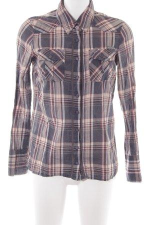 Hilfiger Denim Hemd-Bluse mehrfarbig Casual-Look