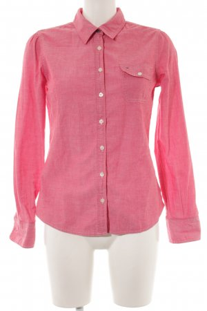 Hilfiger Denim Hemd-Bluse meliert Business-Look