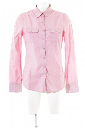 Hilfiger Denim Hemd-Bluse rosa Casual-Look
