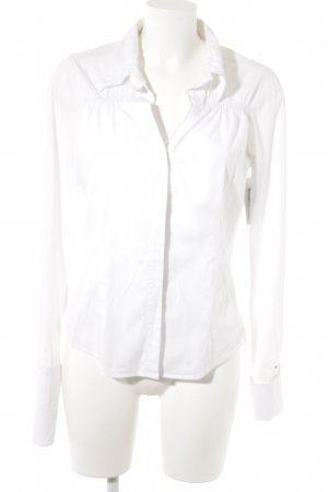 Hilfiger Denim Hemd-Bluse weiß Casual-Look