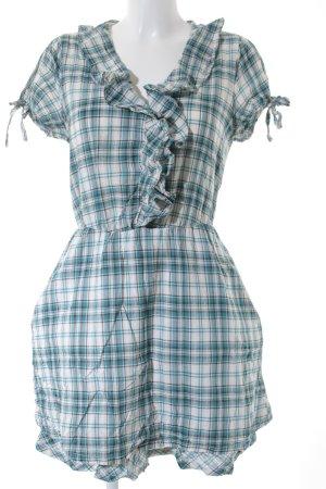 Hilfiger Denim Abito blusa camicia motivo a quadri stile stravagante