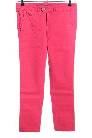 Hilfiger Denim High-Waist Hose pink Casual-Look