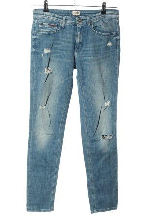 Hilfiger Denim High Waist Jeans blau Casual-Look