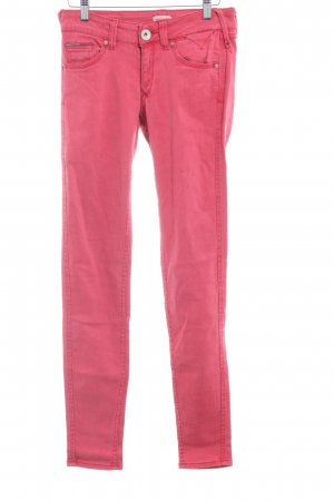 Hilfiger Denim Hoge taille jeans lichtrood casual uitstraling