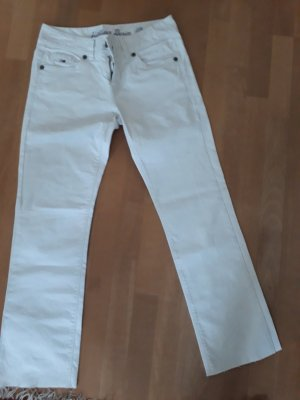 Hilfiger Denim Pantalon taille basse blanc coton