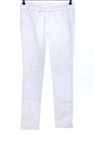 Hilfiger Denim Pantalone a vita bassa bianco stile casual