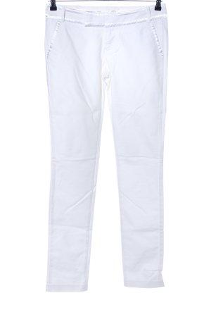 Hilfiger Denim pantalón de cintura baja blanco look casual
