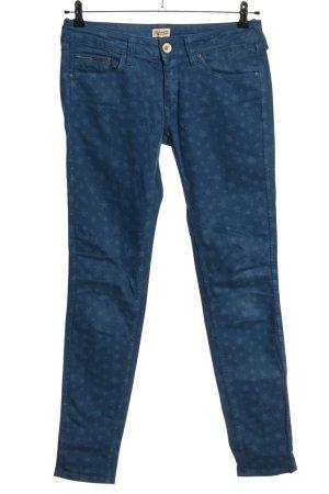 Hilfiger Denim Hüftjeans blau abstraktes Muster Casual-Look