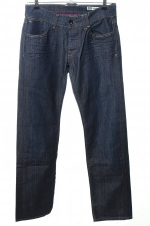 Hilfiger Denim Low Rise Jeans blue flecked casual look