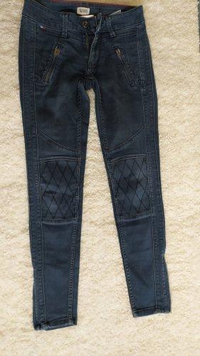 Hilfiger Denim Jeansy ze stretchu stalowy niebieski-błękitny Bawełna