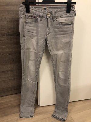 Hilfiger Denim Jeans cigarette gris clair