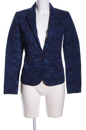 Hilfiger Denim Blazer in jeans blu Motivo mimetico stile casual
