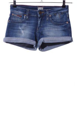 Hilfiger Denim Jeansshorts blau Casual-Look