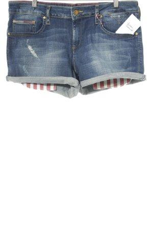 Hilfiger Denim Jeansshorts dunkelblau-blassblau Casual-Look
