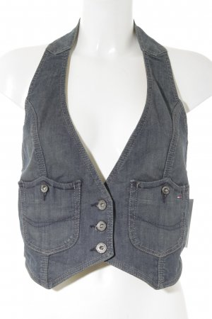Hilfiger Denim Jeansweste blau Casual-Look