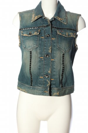 Hilfiger Denim Jeansweste blau Casual-Look