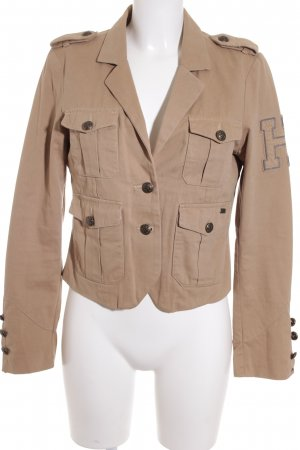 Hilfiger Denim Jerseyblazer sandbraun-bronzefarben Business-Look