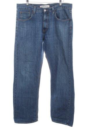 Hilfiger Denim Vaquero estilo zanahoria azul acero look casual