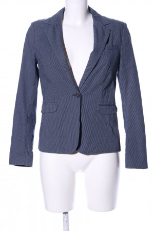 Hilfiger Denim Kurz-Blazer blau Streifenmuster Business-Look