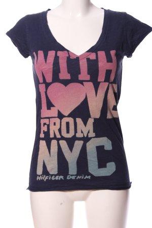 Hilfiger Denim T-shirt Colore sfumato stile casual