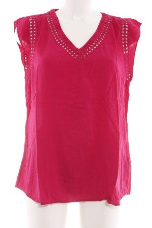 Hilfiger Denim Short Sleeved Blouse red casual look