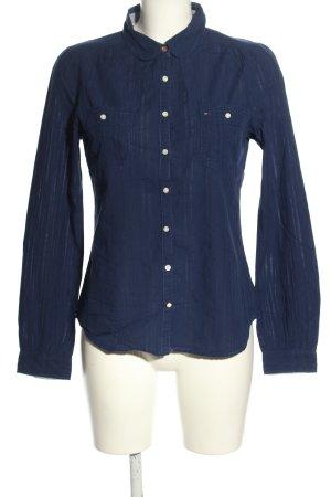Hilfiger Denim Langarmhemd blau Casual-Look